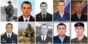 Rusya Suriye'de Direnişçiler Tarafından Öldürülen 20 Subayını Açıkladı