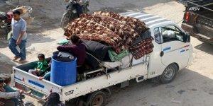 İdlib'de Bir Yılda 1 Milyon Kişi Göç Etti