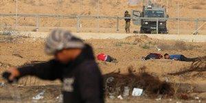 İşgal Güçleri Gazze'de Bir Filistinliyi Yaraladı