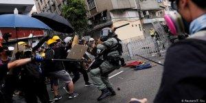 Hong Kong'daki Protestolarda 36 Kişi Gözaltına Alındı