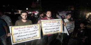 Gazze'de, Açlık Grevindeki Filistinli Tutuklulara Destek