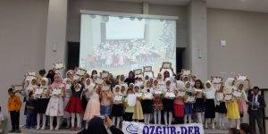 Tatvan Özgür-Der Yaz Kur'an Kursu Yıl Sonu Etkinlik Programı Düzenlendi