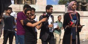 Türkiye'deki Yemenliler BAE'yi Protesto Etti
