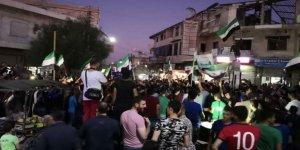 Katil Esed Rejimi ve Rusya İdlib'de Protesto Edildi