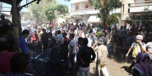 Azez İlçe Merkezinde İkinci Bombalı Saldırı