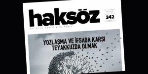 Haksöz Dergisi Eylül 2019 Sayısı Çıktı