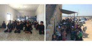 Bombardıman ile Sınır Arasında Sıkışan Hayatlar