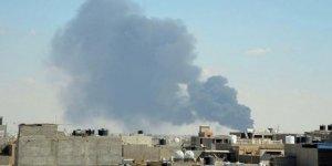 UMH Güçleri Hafter Kontrolündeki Hava Üslerini Vurdu