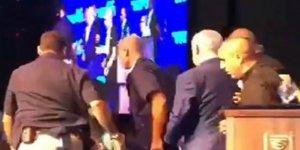 Netanyahu, Roket Sirenleri Yüzünden Mitingini Yarıda Kesti