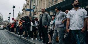 Paris'te Grev Ulaşımı Felç Etti