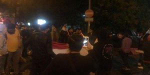 İstanbul Mısır Konsolosluğu Önünde Sisi Cuntası Protesto Edildi