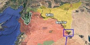 Deyrizor'da Esed-İran Güçleri ile YPG Arasında Çatışma
