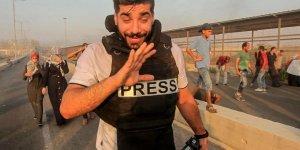 İşgal Güçleri 2 Gazeteciyi Yaraladı