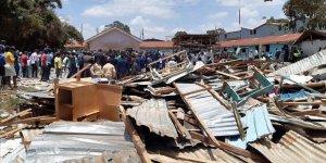 Kenya'da Okul Dersliği Çöktü: 7 Öğrenci Hayatını Kaybetti