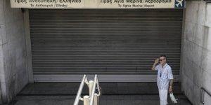 Yunanistan'daki Grev Yaşamı Durma Noktasına Getirdi