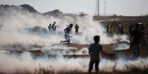 Gazze Sınırında 63 Filistinli Yaralandı