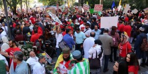 Keşmir İşgalcisi Hindistan New York'ta Protesto Edildi