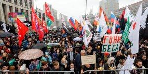 Rusya'da 20 Bin Kişilik Protesto Eylemi