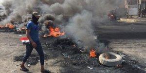Bağdat'taki Protestolar İkinci Gününde Sürüyor