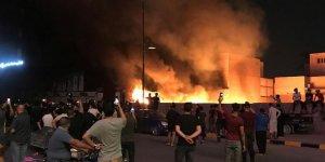 Irak'taki Gösteriler 4. Gününde Devam Ediyor