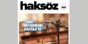 Haksöz Dergisinin Ekim 2019 Sayısı Çıktı