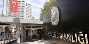 Dışişleri Bakanlığı'ndan 'Güvenli Bölge' Açıklaması