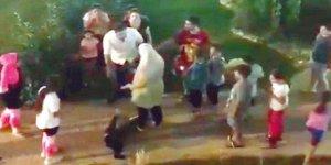 5 Yaşındaki Mülteci Çocuğa Şiddet Uygulayan Zorba Tutuklandı