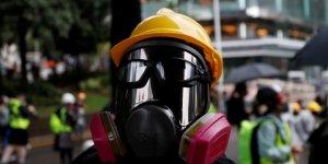Hong Kong'da Maske Yasağını İhlal Eden 70 Kişi Gözaltına Alındı