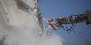 İşgal Güçleri Batı Şeria'da Filistinlilere Ait İki Evi Yıktı