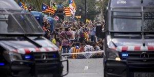 İspanyol Polisinden Katalan Protestoculara Müdahale