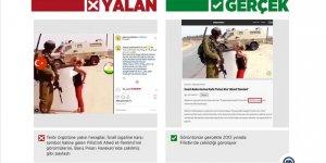 YPG/PKK'lılardan 'Filistinli Cesur Kız' Ahed Çarpıtması