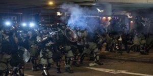 Hong Kong'daki Protestolar Şiddet Olaylarına Sahne Oldu