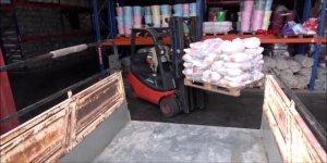 İdlib'de Yardıma Muhtaç Kardeşlerimize 2 Bin Adet Gıda Kolisi Gönderildi