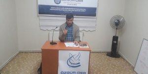 Sivas Özgür-Der'de Haksöz'ün Son Sayısı Bağlamında Gündem Değerlendirildi