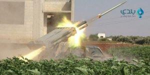 Muhaliflerden Rejime Havan ve Füze Saldırısı