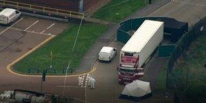 İngiltere'de Konteyner İçinde 39 Ceset Bulundu