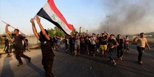 Irak Polisi Gösterilere Karşı 'Kırmızı Alarm'da
