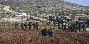 İşgal Yönetimi Filistinlilere Ait 36 Dönüm Tarım Arazisine El Koydu