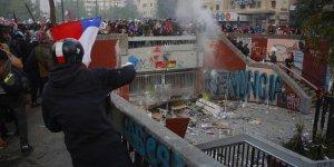Şili'deki Hükümet Karşıtı Protestolar 18. Gündür Devam Ediyor