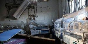 Rusya İdlib'de Çocuk Hastanesini Hedef Aldı