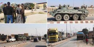 Rusya'dan PKK/YPG'ye 40 Araçlık Askeri Yardım