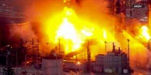 Suriye'de Banyas Rafinerisinde Patlama