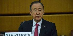 Ban Ki Moon: Suriye Konusunda Aldığı İnisiyatiften Dolayı Erdoğan'a Saygı Duyuyorum