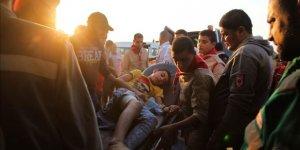 İşgal Güçleri Gazze'de 38 Filistinliyi Yaraladı