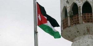 İsrail'e Kiralanan El-Bakura ve El-Gamr Arazilerine Ürdün Bayrağı Dikildi