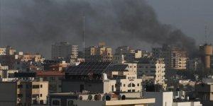 İşgal Uçakları Gazze'yi Vurmaya Başladı