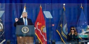 Trump Kurşun Geçirmez Camın Ardından Konuştu