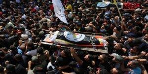 Siyonist İsrail'in Katlettiği Ebu'l Ata'nın Cenazesi Toprağa Verildi