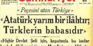 Çılgın Kemalistler'in Atatürk'ü Milletine Yabancılaştırmasına Müsaade Etmeyelim!