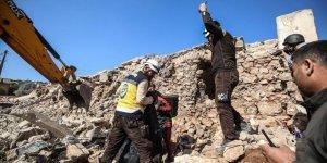 Rusya İdlib'de 9 Sivili Katletti
